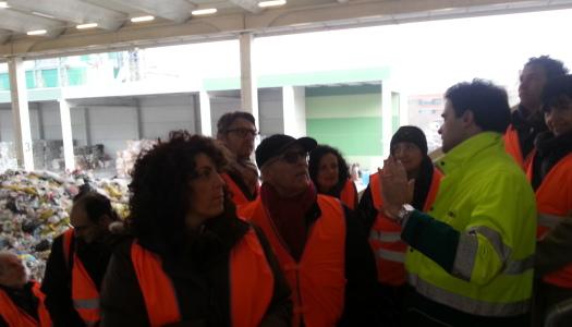 Visita agli impianti tmb-wte Herambiente di Granarolo